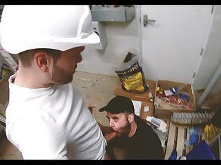 builder rough breeds my hole raw in storage closet