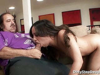 Stepdaughter lynn love entices dad to fuck...