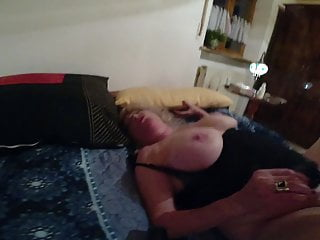 flipping breasts of this hot granny - she enjoys the fuck