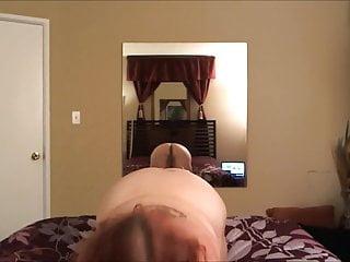Redhead BBW Slutty Striptease