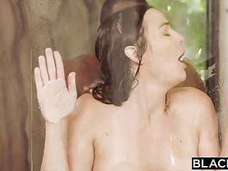 BLACKED, Hot Brunette Blair can't resist her coworkers' BBC