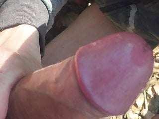 Femboy in public sucks my big cock
