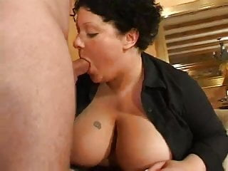 Curly haired bbw slut 1