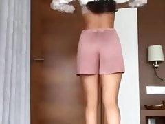 Sananas (influencer) tight skirt - try on haul
