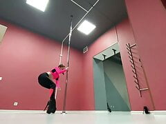 Check Up my pole dance! Imagine what i can do with hard dick