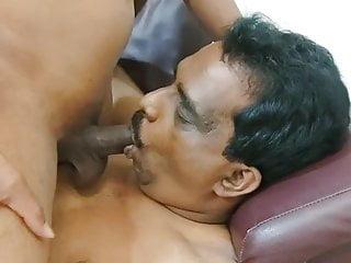 Desi Indian Tamil Bottom Sucking a top