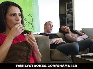 familyStrokes – Fucked not My bro On Movie Night