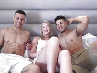 Teen Blonde Blowjob video: 2 Sexy Mixed Boys With Big Cocks Suck Each Other Off