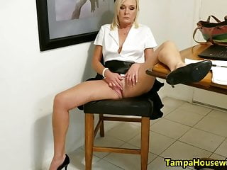 Ms Paris Stays WET and HORNY at House and Work