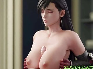 Fuck between tits in the coolest animation 3d...