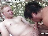 German mother Shows Young NOT Step-Son How To Fuck Girl