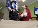 LOAN4K. Agent is ready to give busty hottie credit after