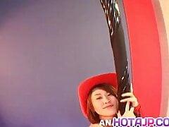 Kokoro Miyauchi fucked in her tight holes for hours