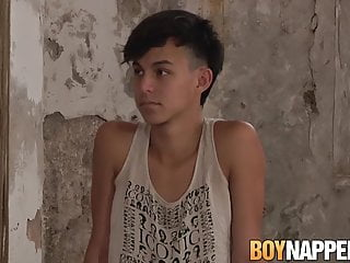 Submissive twink maxxie rivers takes ass spanking from...
