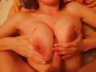 Sucked cock and made sweet tits job...