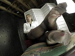 Pics feet mature nylon More than