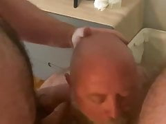daddy sucking two cocksPorn Videos