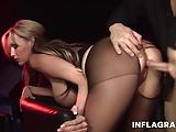 Petite German Cougar Huge Tits