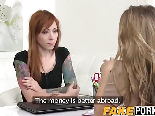 Hot ginger babe has agent...