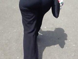 Public milf ass...