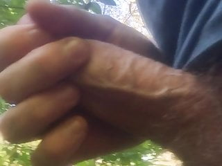 In woods till public jerking cum I