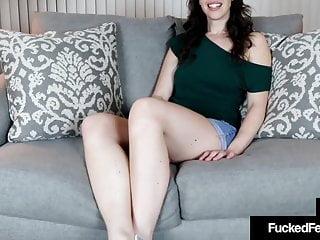 hot allison real heel slides her soles & toes on a hard cockHD Sex Videos