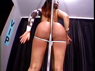 Bubble Butt Latina Stripper in Short Dress