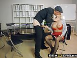 Brazzers - Big Tits at Work - Sales Pitch scene starring Chr