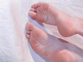 My feet modeling...