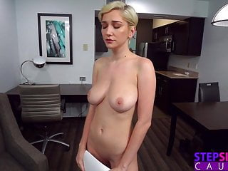 Three Pumps But That's It! – Step Sis Practicing Sex Scene