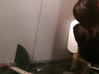 Pussy Party Teen video: WC, voyeur overstall hidden cam