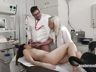 Deutsch Doktor!!! Was ein perverser Sack