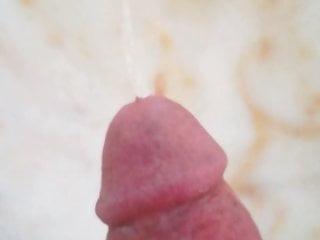 Pissing cock...