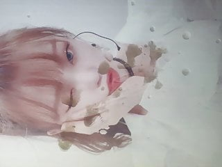 Oh My Girl Seunghee cum (tribute)