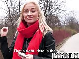 Public Pick Ups - Euro Blonde Has Cute Small Tits starring