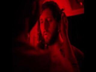 Orthodox Jew in a gay club – dark room (2019)