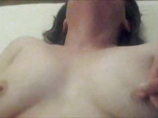 Masturbating her...