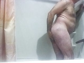 Shower Time and Dildo Fun with some CBT for Alex Sissy