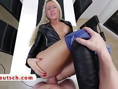 German Cougar Buttfuck And Piss