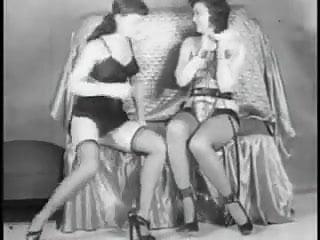 Vintage Stripper Film -B Page Sorority Girl