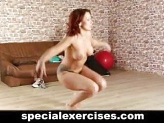 Special submissive training for redhead hottie