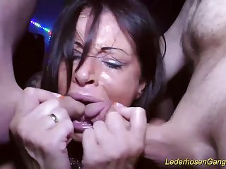 Milf extreme busty german banged