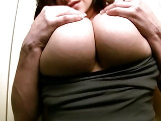 Sexy girl with great tits