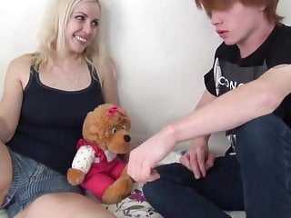 Hot Blonde on Home made