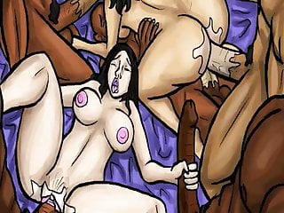 Gangbanged By BBC Daughter Mother Latin  (Illustration) and
