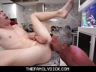 Stepson learns fight and family fuck...