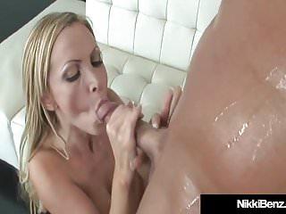Plowed pussy by blonde buck...