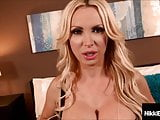 Busty Penthouse Pet Nikki Benz Blows Cock & Titty Fucked!