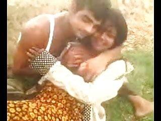 Desi indian big boob aunty captured outdoor part...