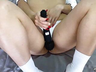 Big Natural Boobs Babe Passionate Masturbate Sex Toys